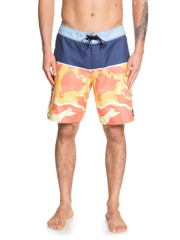 "0 Everyday Down Under 19"" Boardshorts Blue EQYBS04161 Quiksilver"