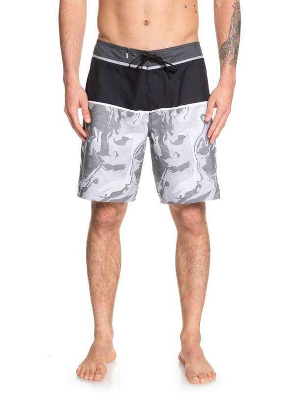 "0 Everyday Down Under 19"" Boardshorts Grey EQYBS04161 Quiksilver"