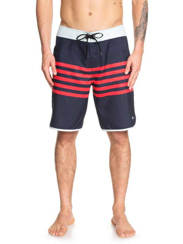 "0 Everyday Grass Roots 20"" Boardshorts Blue EQYBS04162 Quiksilver"