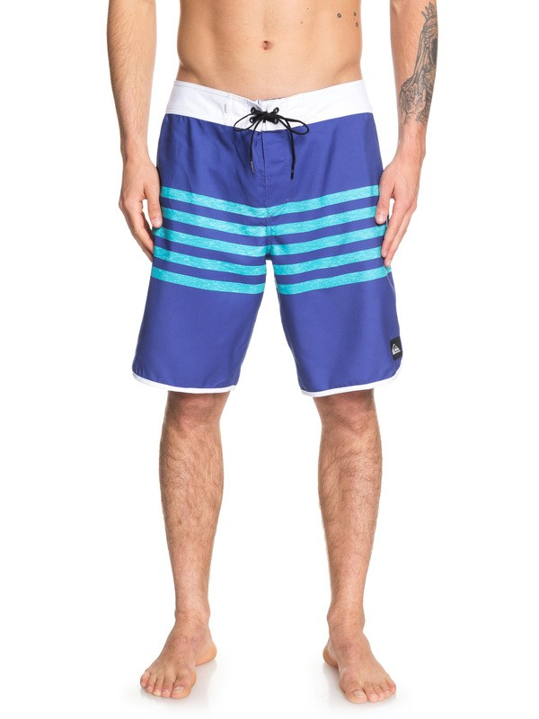 "0 Everyday Grass Roots 20"" Boardshorts Purple EQYBS04162 Quiksilver"