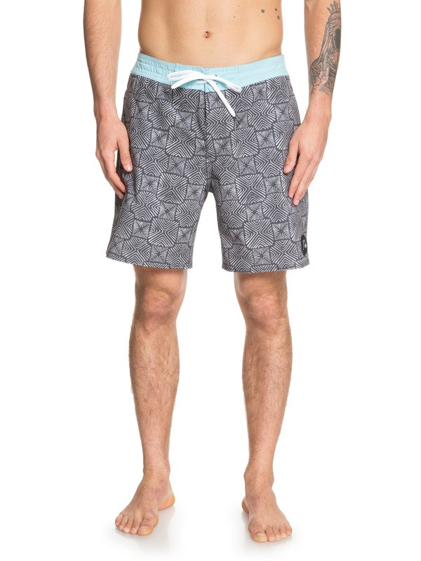 "0 Shorts de Playa -Secret Ingredient de  18"" Gris EQYBS04165 Quiksilver"