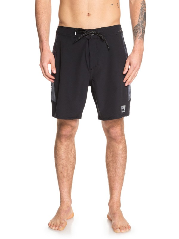 "0 Highline Fade Arch 18"" Boardshorts Black EQYBS04168 Quiksilver"