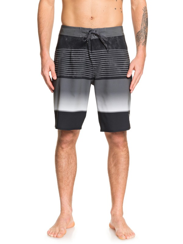 "0 Highline Slab 20"" Boardshorts Black EQYBS04200 Quiksilver"