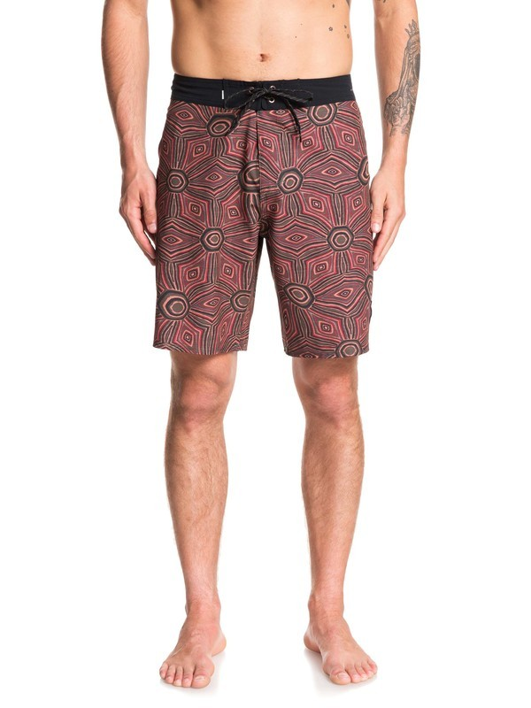 "0 Highline Tamarama 19"" Boardshorts Red EQYBS04211 Quiksilver"