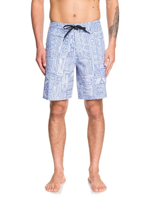 "0 Highline Voodoo 19"" - Board Shorts for Men Azul EQYBS04213 Quiksilver"