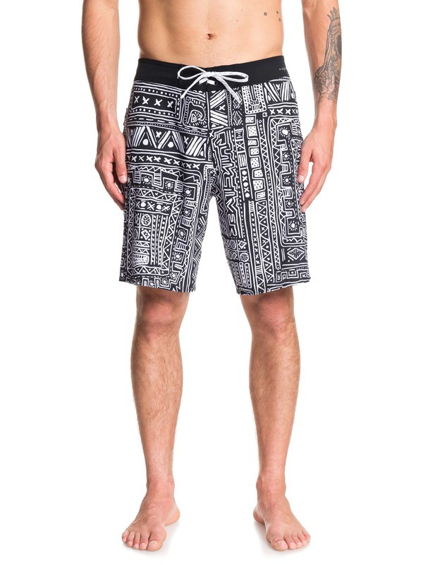 "0 Highline Voodoo 19"" - Board Shorts Blanco EQYBS04213 Quiksilver"