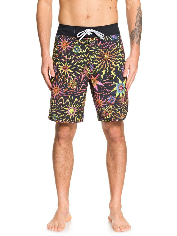 "0 Highline Tripper 19"" Boardshorts Black EQYBS04217 Quiksilver"