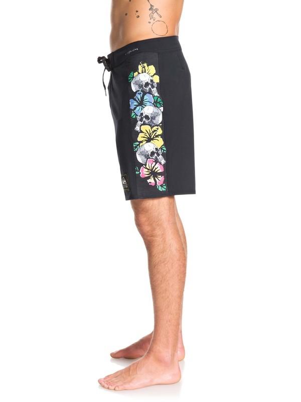 """Highline Skull Chain 18"""" - Board Shorts for Men  EQYBS04219"""