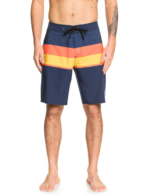 "0 Highline Seasons 20"" Boardshorts Blue EQYBS04225 Quiksilver"