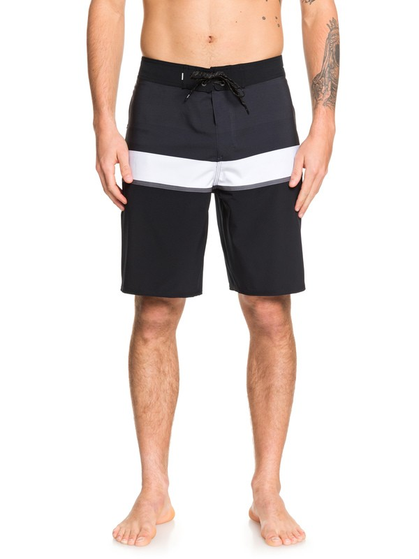 "0 Highline Seasons 20"" Boardshorts Black EQYBS04225 Quiksilver"