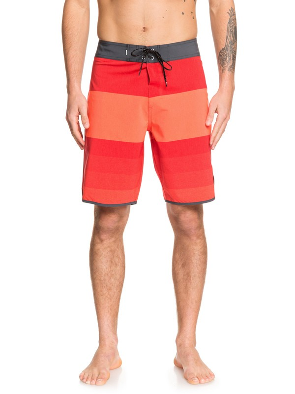 "0 Highline Tijuana 20"" Boardshorts Red EQYBS04227 Quiksilver"