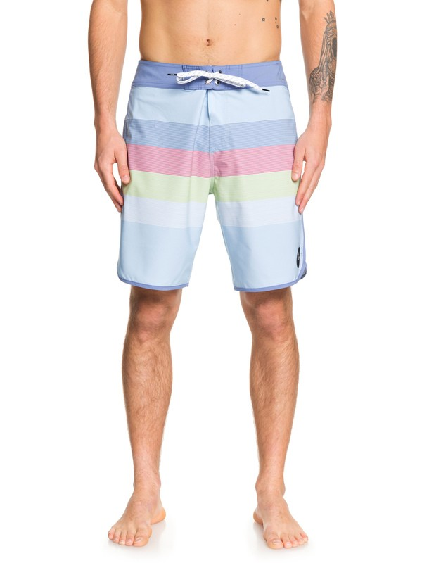"0 Highline Sunset 19"" Boardshorts Blue EQYBS04229 Quiksilver"