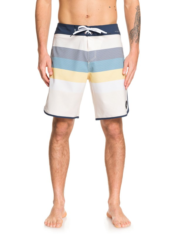 "0 Highline Sunset 19"" Boardshorts White EQYBS04229 Quiksilver"