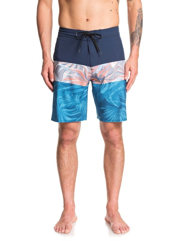 """0 Highline Multiply 19"""" - Board Shorts Blue EQYBS04236 Quiksilver"""