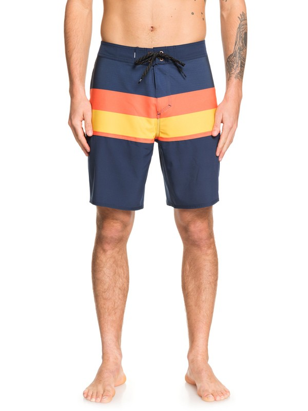 "0 Highline Seasons 19"" - Board Shorts Blue EQYBS04237 Quiksilver"