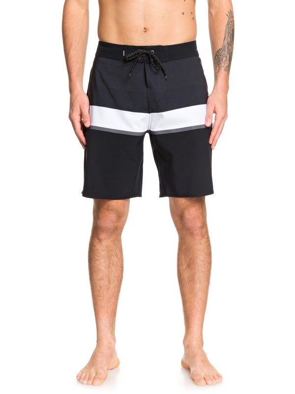 "0 Highline Seasons 19"" - Boardshort da Uomo Black EQYBS04237 Quiksilver"