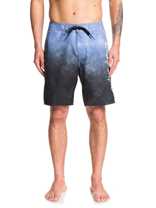 "0 Everyday Accelerator 19"" - Board Shorts for Men Azul EQYBS04238 Quiksilver"