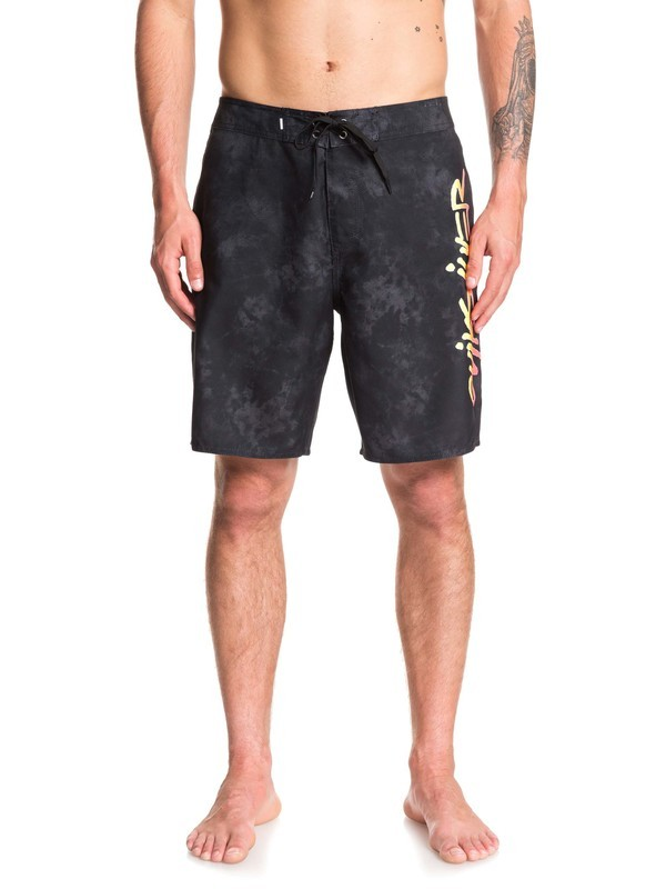"0 Everyday Accelerator 19"" Boardshorts Black EQYBS04238 Quiksilver"