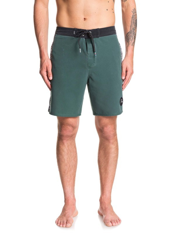 """0 Arch 18"""" - Short-Bañador para Hombre Verde EQYBS04240 Quiksilver"""