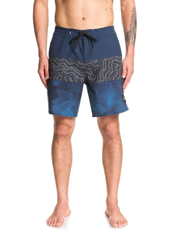 "0 Washed 18"" Beachshorts Blue EQYBS04241 Quiksilver"