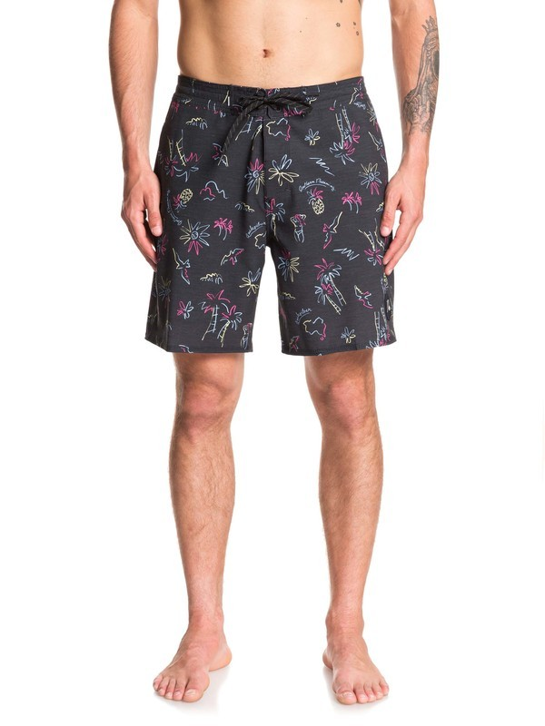 "0 Secret Ingredient 18"" Beach Shorts Black EQYBS04252 Quiksilver"
