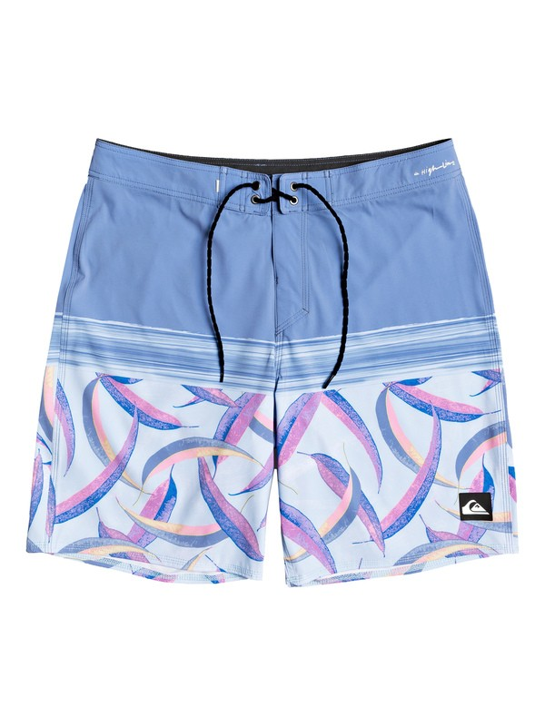 "0 Highline Aussie Pop 19"" Boardshorts Blue EQYBS04265 Quiksilver"