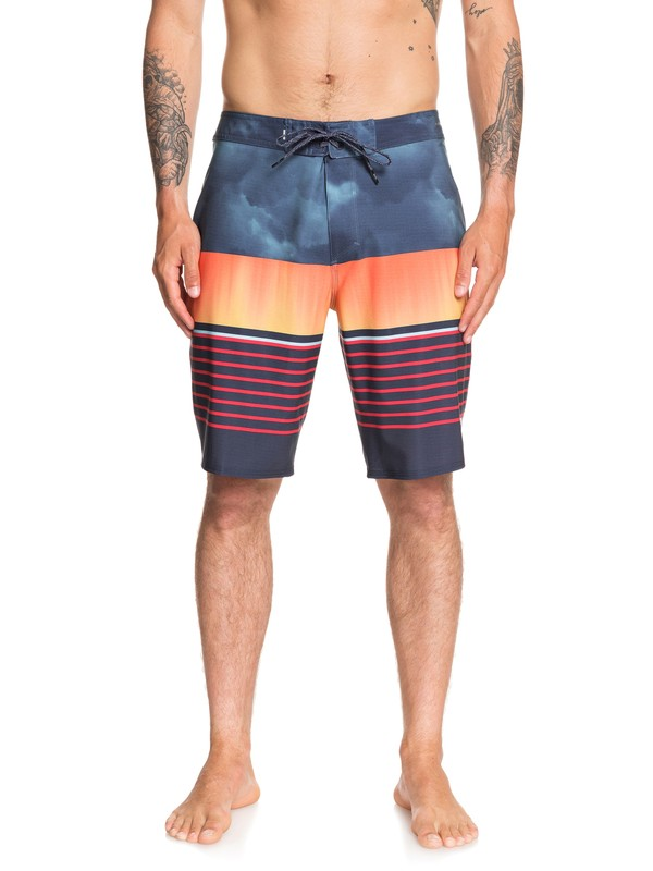 """0 Highline Swell Vision 20"""" Boardshorts Blue EQYBS04267 Quiksilver"""