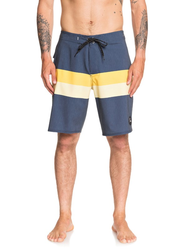 "0 Highline Seasons 20"" Boardshorts Blue EQYBS04284 Quiksilver"