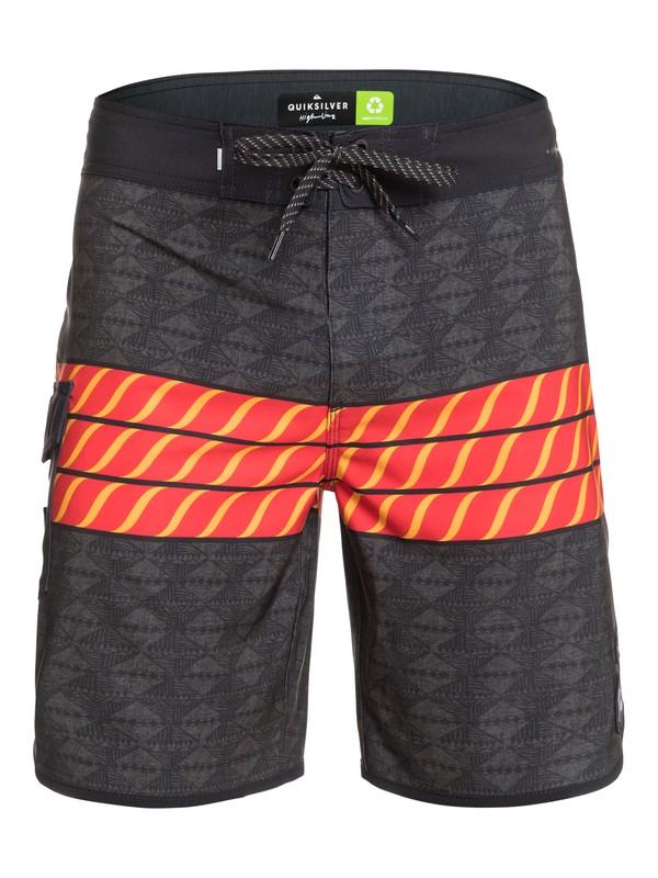 "Highline HI Variable Scallop 19"" - Board Shorts for Men EQYBS04428"