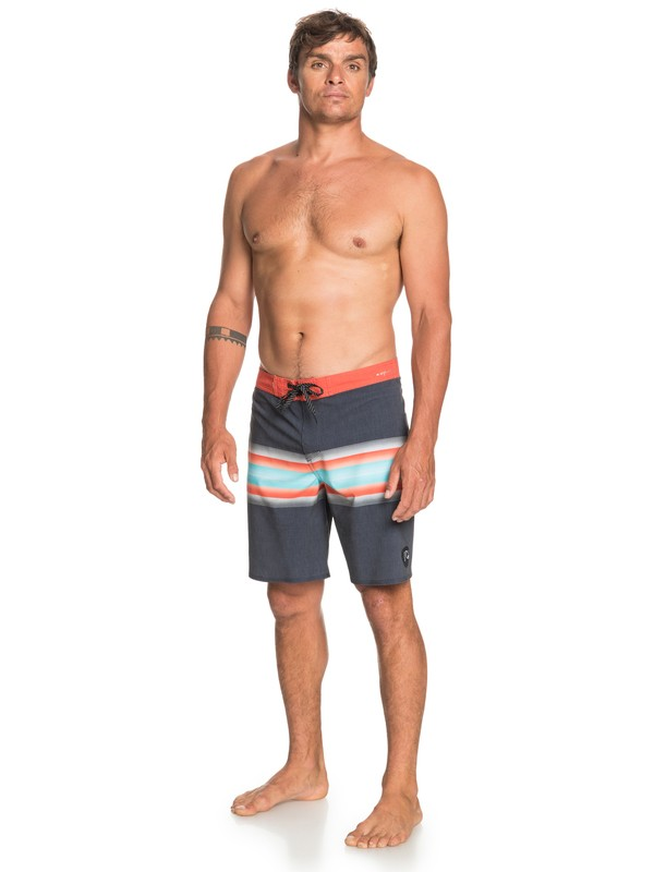 """Highline Six Channel 19"""" - Board Shorts for Men  EQYBS04441"""
