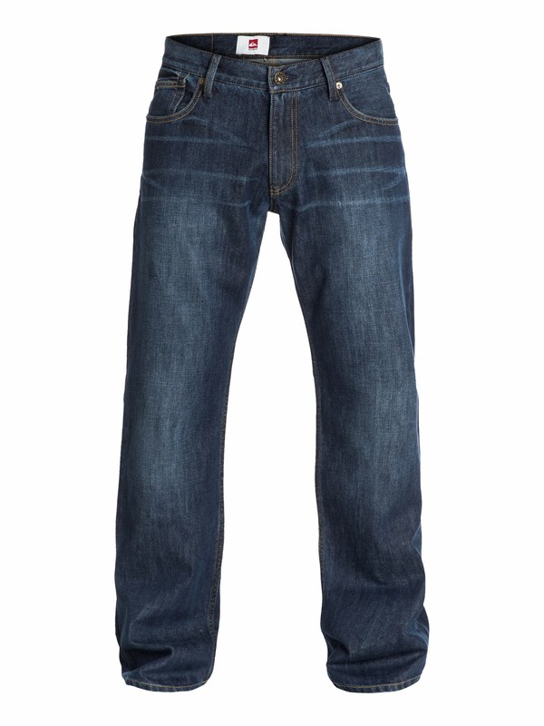 """0 Buster Dark  Relaxed Fit Jeans, 32"""" Inseam  EQYDP03016 Quiksilver"""