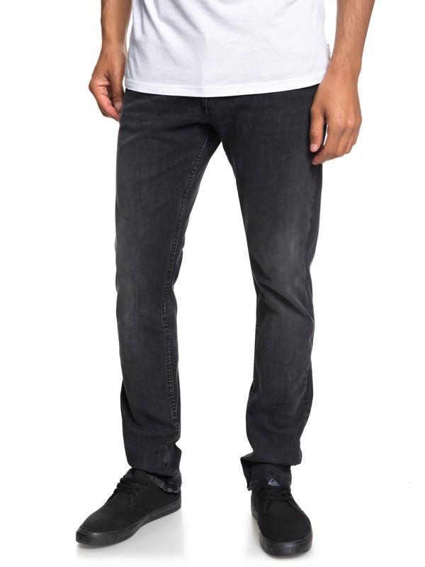 0 Distorsion Vintage Black - Jean slim pour Homme Noir EQYDP03370 Quiksilver
