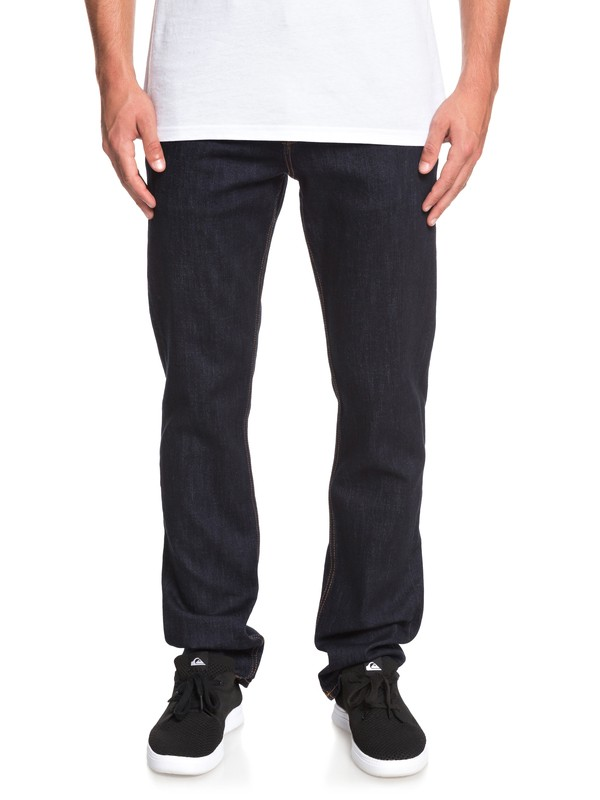 0 Sequel Rinse Regular Fit Jeans Blue EQYDP03393 Quiksilver
