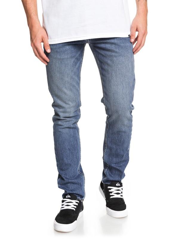 Distorsion Medium Blue - Slim Fit Jeans for Men  EQYDP03403