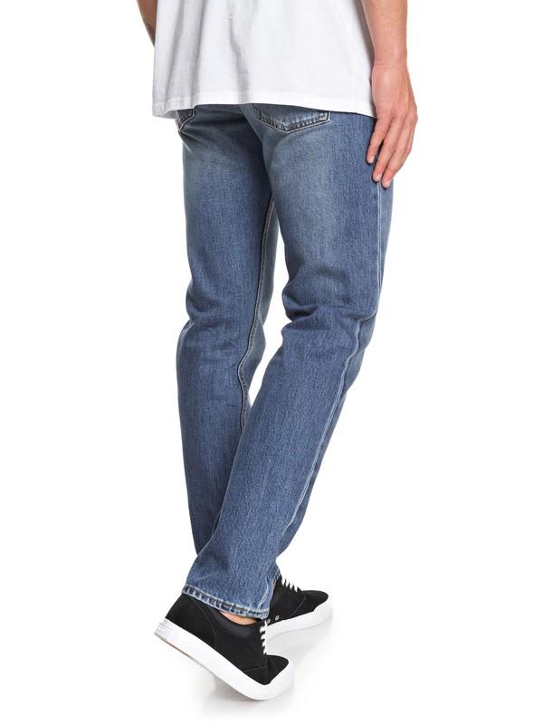 Revolver Medium Blue - Straight Fit Jeans for Men  EQYDP03404