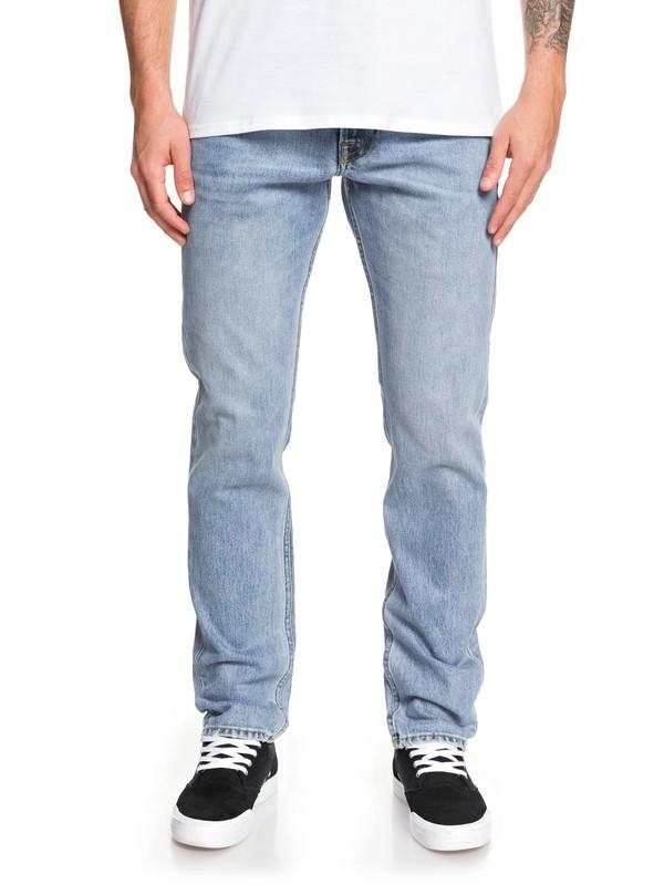 0 Revolver Salt Water Straight Fit Jeans Blue EQYDP03409 Quiksilver