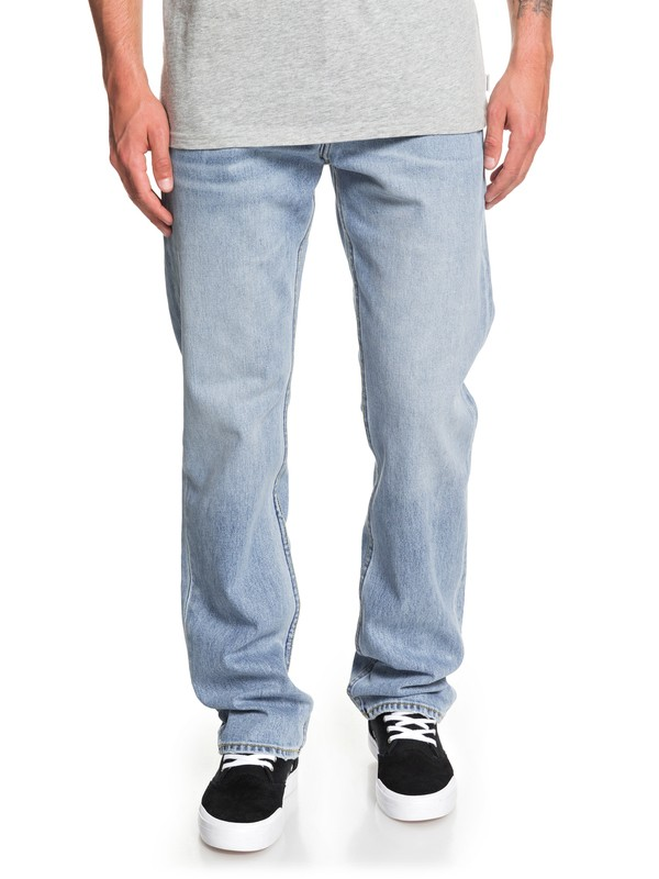 0 Sequel Salt Water Straight Fit Jeans Blue EQYDP03411 Quiksilver
