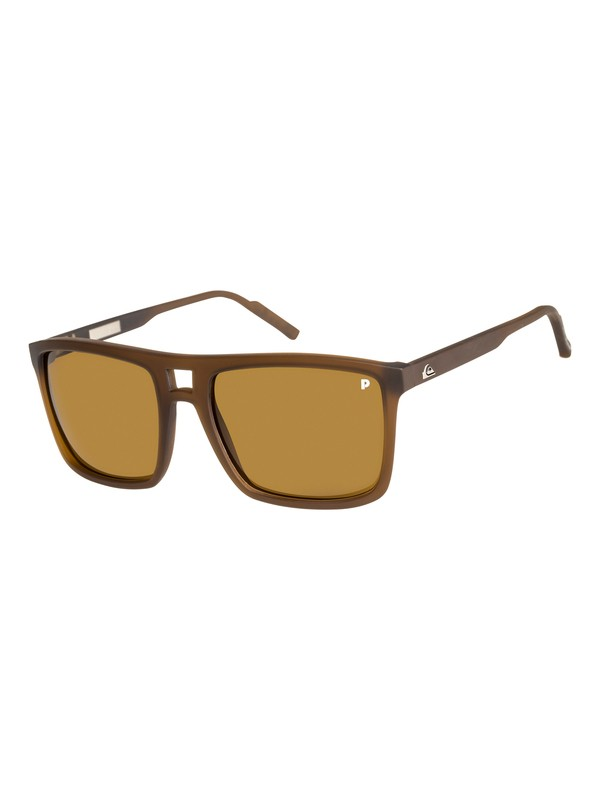 0 Brigade - Sunglasses for Men Pink EQYEY03070 Quiksilver