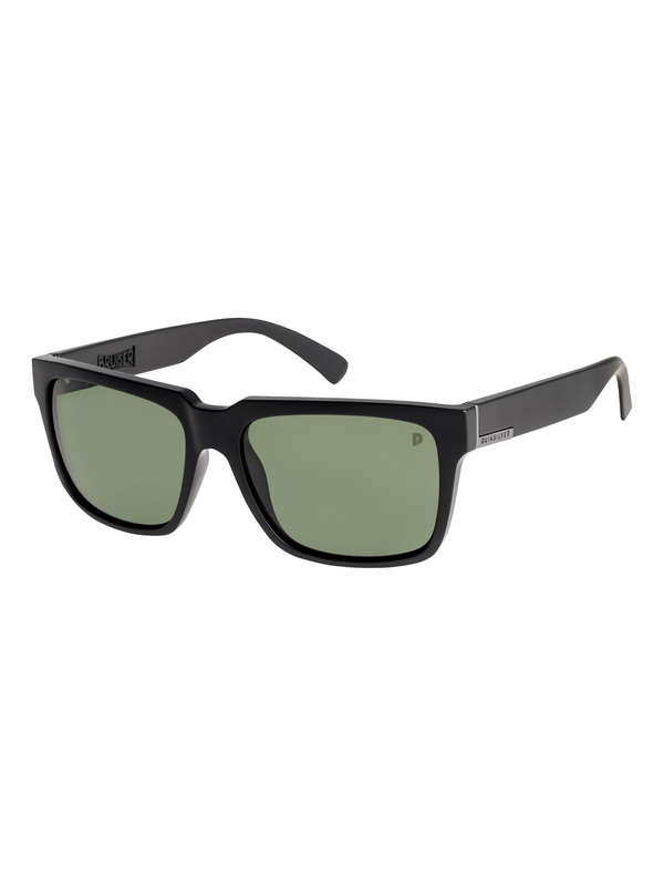 0 Bruiser Polarised Sunglasses Black EQYEY03076 Quiksilver