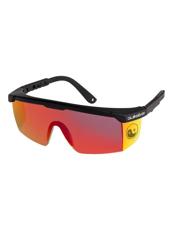 0 Safety Mikey - Gafas de Sol para Hombre Negro EQYEY03103 Quiksilver