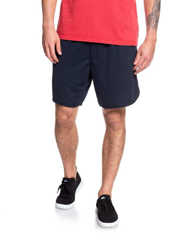 0 Space Time Mesh Shorts Blue EQYFB03173 Quiksilver