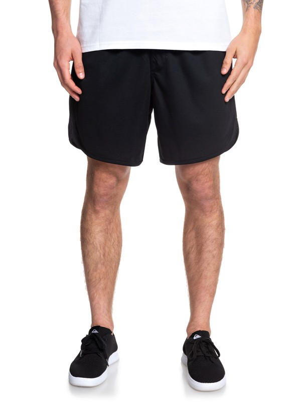 0 Space Time Mesh Shorts Black EQYFB03173 Quiksilver