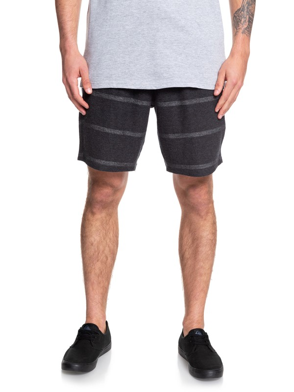 0 Reckless Blinking Sweat Shorts Black EQYFB03183 Quiksilver