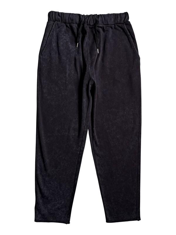 0 Acid Sun Cropped Sweatpants Black EQYFB03185 Quiksilver