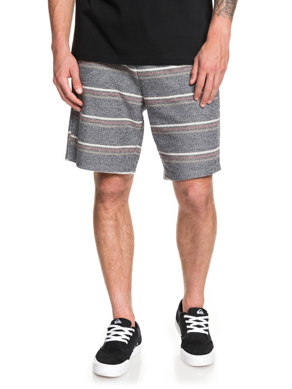 "0 Great Otway 19"" - Sweat Shorts for Men Negro EQYFB03188 Quiksilver"