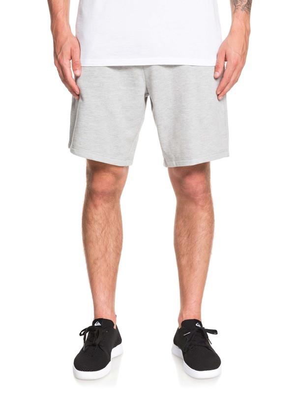 """0 Rio 19"""" Sweat Shorts Grey EQYFB03193 Quiksilver"""