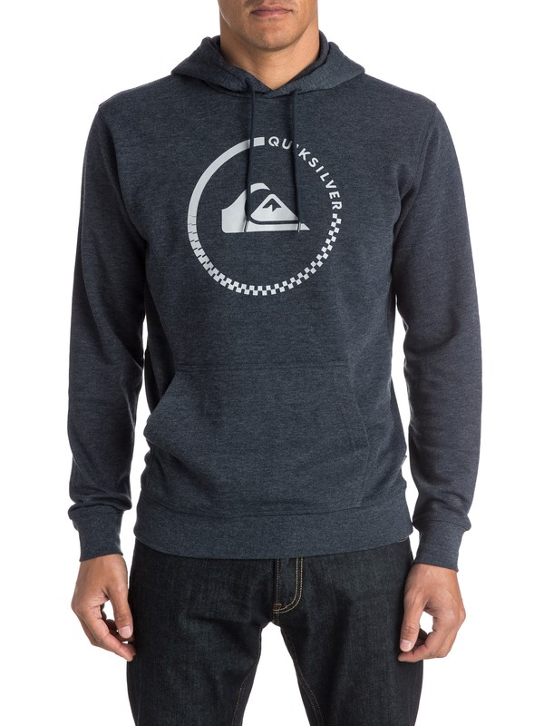 0 Everyday Active Check Pullover Hoodie  EQYFT03338 Quiksilver
