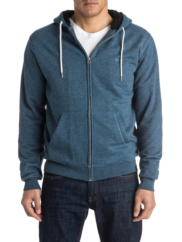 0 Epic Outback Sherpa Zip-Up Hoodie  EQYFT03430 Quiksilver