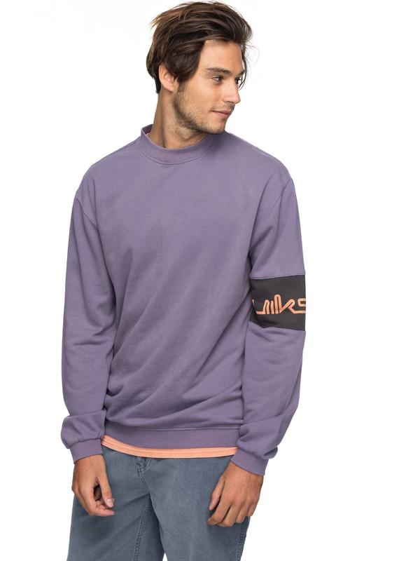 0 Wave Slide Sweatshirt  EQYFT03751 Quiksilver