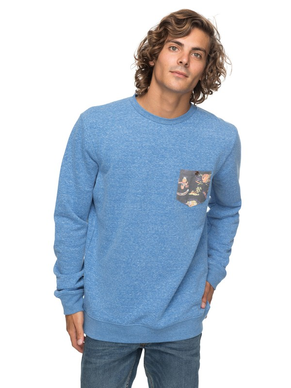 0 Buckmann - Sweatshirt für Männer Blau EQYFT03774 Quiksilver